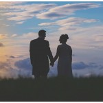 Newton Hall Wedding Photography Sunset