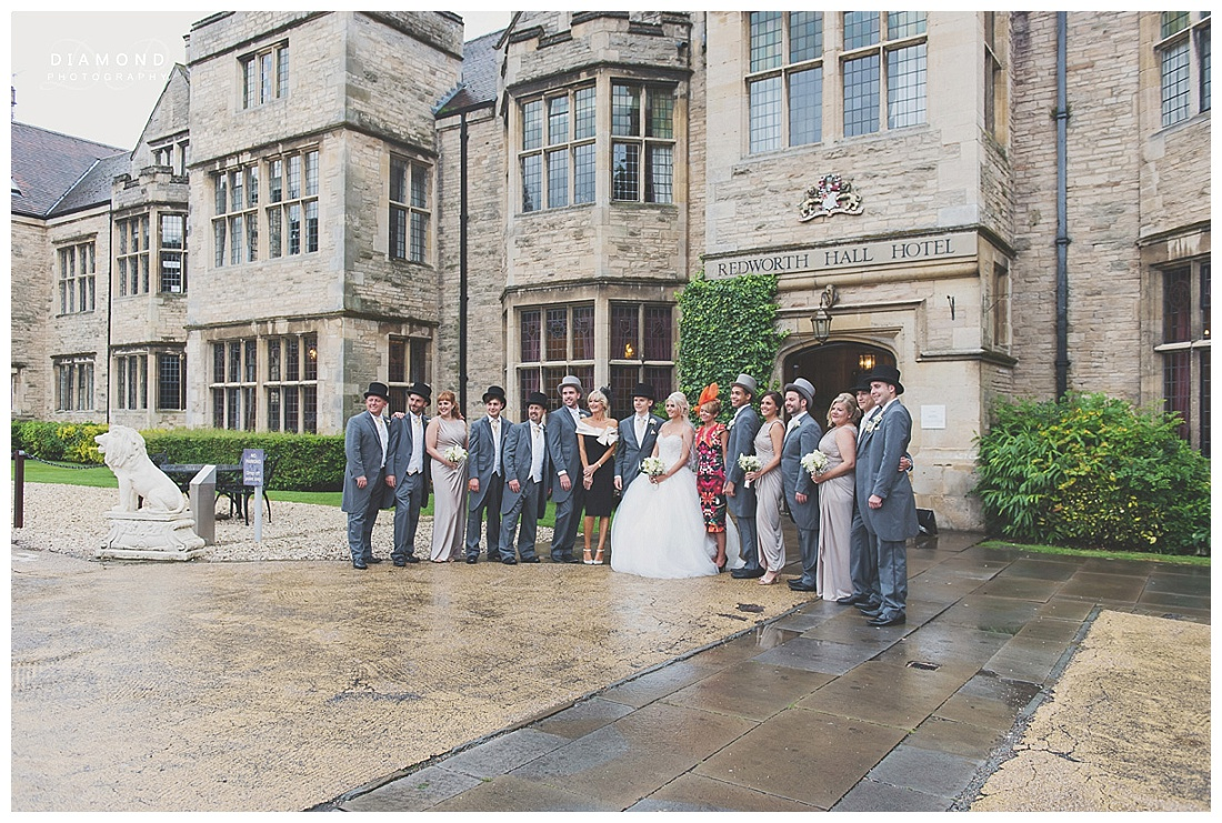 Redworth Hall Wedding Photography (15)