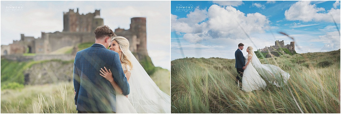 Wedding Photography Bamburgh Castle