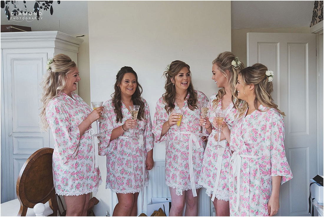 Bridesmaids - Wedding Photography Bamburgh